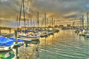 Pacific Photos - Luv Lane Sunset by Richard Omura