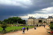 Luxembourg Gardens Prints - Luxembourg Gardens 2 Print by Andrew Fare