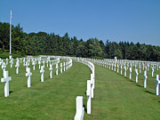 World Changing Prints - Luxembourg World War II American Cemetery  Print by Joseph Hendrix