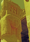 Luxor Prints - Luxor Temple Print by Elizabeth Hoskinson