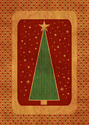 Christmas Cards Digital Art Posters - Luxurious Christmas Card Poster by Aimelle ML