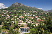 Vence Prints - Luxury Hillside Houses and Apartments in Provence Print by Jon Boyes