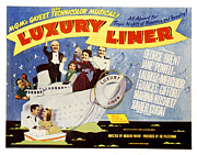 Luxury Liner Prints - Luxury Liner, Xavier Cugat, Lauritz Print by Everett