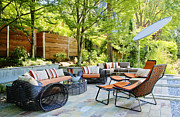 Frame House Photos - Luxury Outdoor Furniture by Inti St. Clair