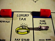 Monopoly Paintings - Luxury Tax by Robert Cunningham
