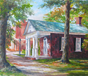 Historical Buildings Paintings - Lyceum by Gloria Turner