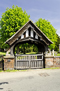 Europe Posters - Lychgate of All Saints Church - Alrewas Poster by Rod Johnson