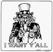 I Want Prints - Lyndon Johnson: Cartoon Print by Granger