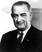 Lyndon Art - Lyndon Johnson, Early 1960s by Everett