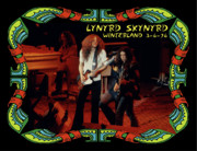 Concert Photos Art - Lynyrd Skynyrd at Winterland 2 by Ben Upham