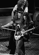 Concert Photos Art - Lynyrd Skynyrd Rock Winterland 2 by Ben Upham
