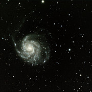 Space Exploration Photos - M-101, The Pinwheel Galaxy by A. V. Ley