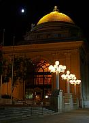City Hall - M and T Bank At Night by Don Nieman