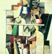 M Matuischin Print by Kazimir Severinovich Malevich