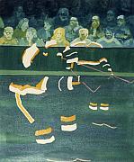 M N S Print by Yack Hockey Art