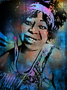 American Singer Paintings - Ma Rainey by Paul Sachtleben