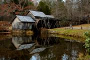 Mark Currier Art - Mabry Mill by Mark Currier