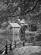 Mabry Framed Prints - Mabry Mill Framed Print by Patrick M Lynch