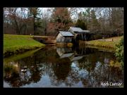 Rustic Mill Posters - Mabry Mill VI Poster by Mark Currier