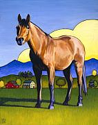 Equine Prints - Mac Attack Print by Stacey Neumiller
