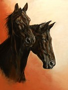 Animals Pastels Originals - Mac by Pat Morris