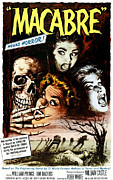 1950s Movies Photo Posters - Macabre, 1958 Poster by Everett