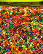 Ranjini Kandasamy Art - Macaroni Beads by Ranjini Kandasamy
