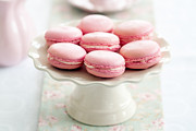 Tabletop Prints - Macarons Print by Ruth Black