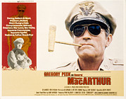 Macarthur Framed Prints - Macarthur, Gregory Peck, 1977 Framed Print by Everett