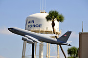 Tampa Bay Florida Posters - MacDill Air Force Base Poster by David Lee Thompson