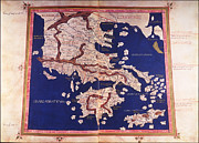 Cartography Photos - Macedonia And Greece by Fototeca Storica Nazionale