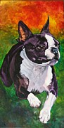 Boston Paintings - Mach Ellie by Susan Herber