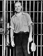 Machine Gun Kelly, Handcuffed To Cell Print by Everett
