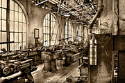 Tool Maker Framed Prints - Machinist - Safety First  Framed Print by Mike Savad