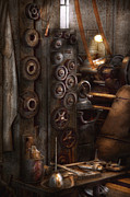 Machinists Photos - Machinist - Steampunk - You got some good gear there by Mike Savad