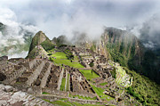 Peru Framed Prints - Machu Picchu Framed Print by Blake Burton