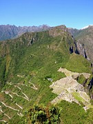 Mountains Art - Machu Picchu by Cute Kitten Images