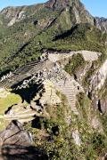 World Wonder Prints - Machu Picchu Frontal Print by Ariane Moshayedi