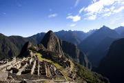 Machu Picchu Framed Prints - Machu Picchu, Ruins Leftover Framed Print by Michael Hanson