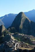 World Wonder Prints - Machu Picchu Sunrise Print by Ariane Moshayedi