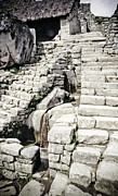 35mm Prints - Machu Picchu Water System Print by Darcy Michaelchuk