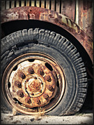 Campo Posters - Mack Wheel Poster by Todd Young