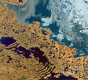 From Above Photos - Mackenzie River, Canada by Science Source