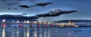 Mackinac Bridge   Print by Twenty Two North Photography