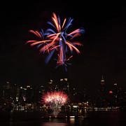 Macy's Fireworks II Print by David Hahn