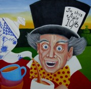 Anni Morris Art - Mad as a Hatter by Anni Morris
