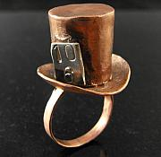 Metal Jewelry - Mad Hatter Fashion by Aimee Koester
