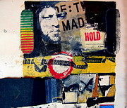 Typewriter Mixed Media - Mad Hold by Cliff Spohn