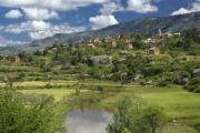 Michele Burgess - Madagascar Village