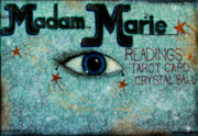 Mural Photo Posters - Madam Marie Poster by Colleen Kammerer